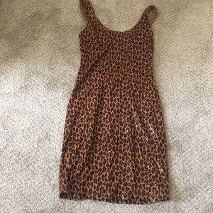 Sequin dress xs express!